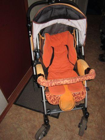 Прогулочная коляска с перекидной ручкой Capella S-803 ВЕЗДЕХОД