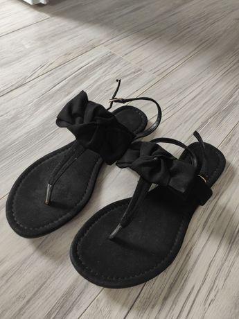 Sandałki-japonki r.38
