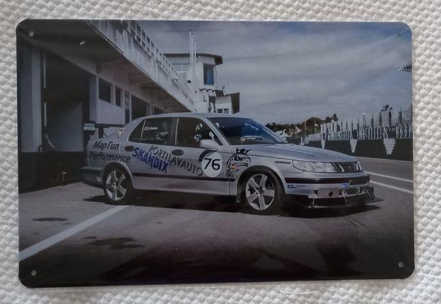 Placa Saab 95     .
