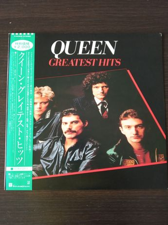 Płyty winylowe Queen Greatest Hits Japan 81 r stan Ex/Ex+