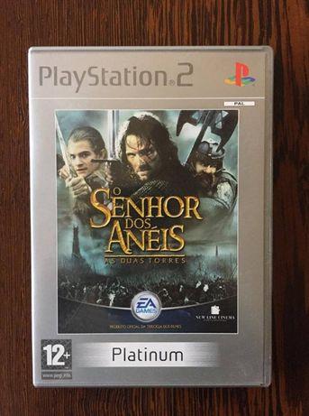 Jogo Playstation 2 - O Senhor dos Anéis - As Duas Torres