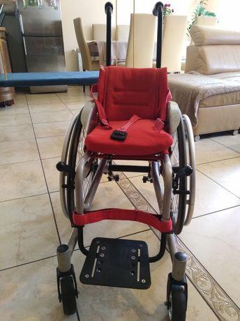 Wózek inwalidzki dziecięcy mobilny