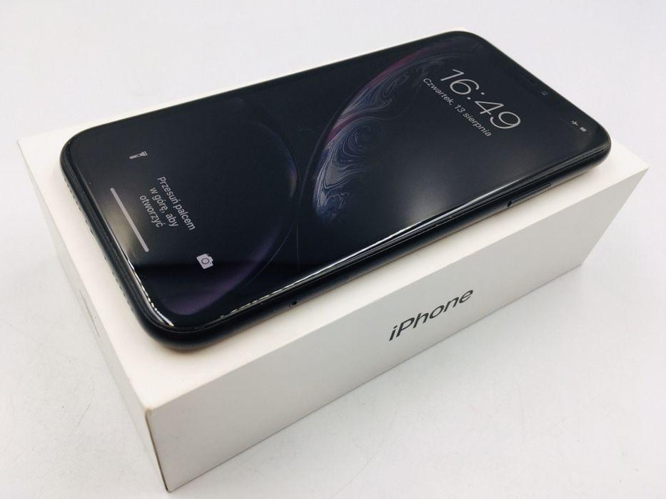 iPhone XR 64GB BLACK • PROMOCJA • GWAR 1 MSC • AppleCentrum Wrocław - image 1