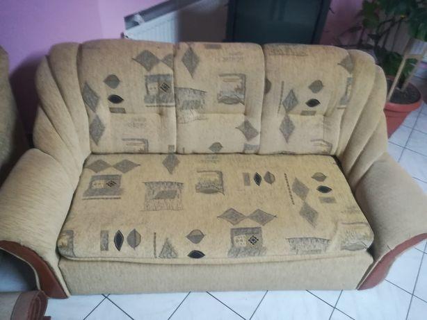 Sofa kanapa łóżko duża rozkładana bardzo dobry stan