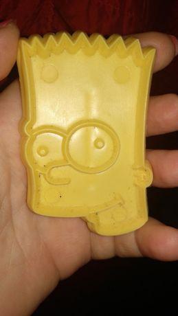 игрушка пластик симпсон matt groening The Simpsons печать оттиск форма