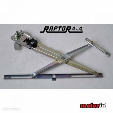 "Regulador de Vidro Manual Esquerdo ""Raptor 4×4"" Samurai"