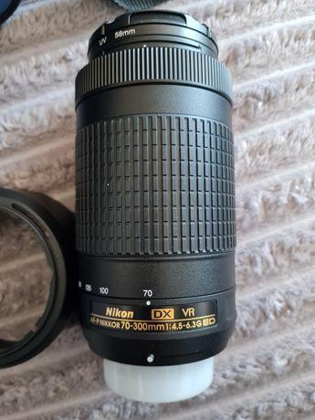 Nikkor 70-300 mm 4.5-6.3g ED VR DX obiektyw Nikon