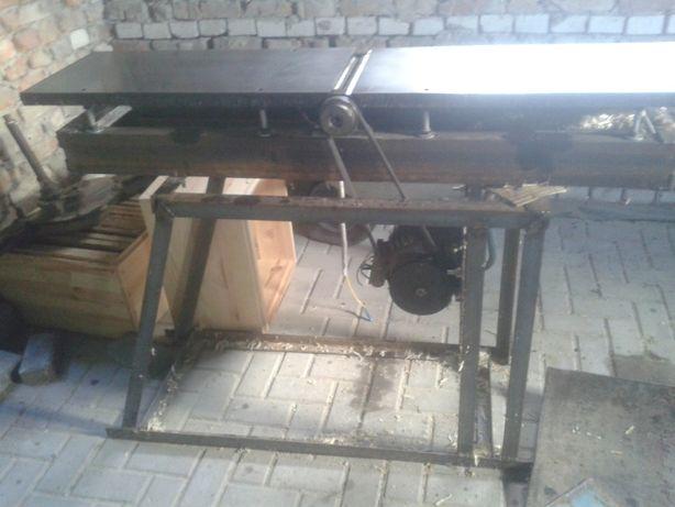 деревообробний фуганок фуговальний станок верстат строгальний