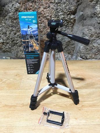 Tripé extensível de alumínio para câmara fotográfica /Smartphone -Novo