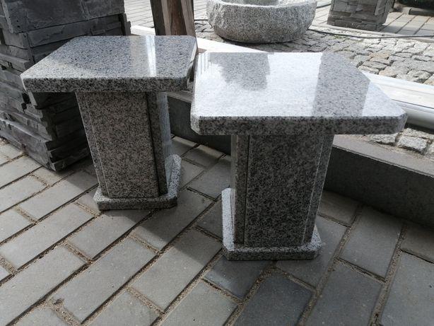 Stoliczki, podstawki granit szlifowany szary (cena za sztuke)
