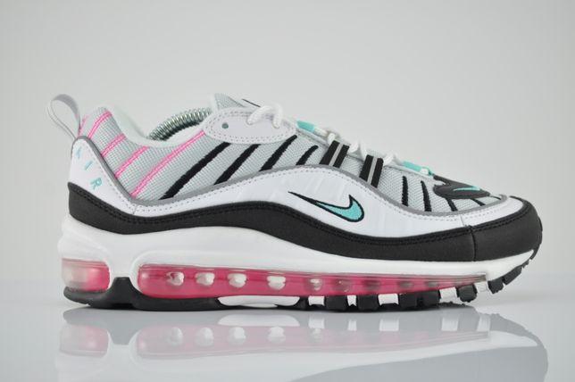 "Nike WMNS Air Max 98 ""South Beach"" 38 40 nowe białe kolorowe PURRFECT"