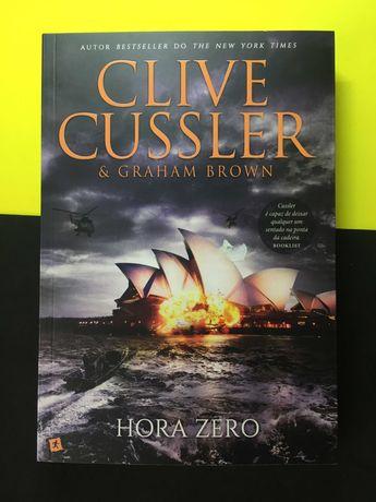 Clive Cussle  Graham Brown - Hora Zero (NOVO - Portes Grátis)