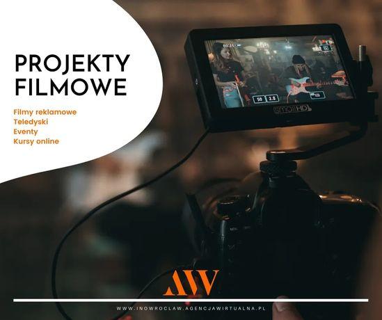 Filmy reklamowe / Teledyski / Montaż YT YouTube / Kursy Online / Event