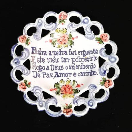 Prato falante azul de Alcobaça