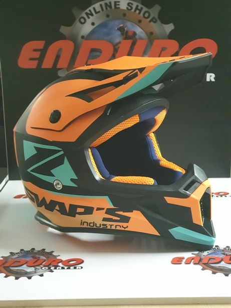 Capacete Swap'S - ENDURO e CROSS