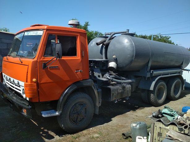 Продам КАМАЗ 53213 КО505 Ассенизатор, бочка