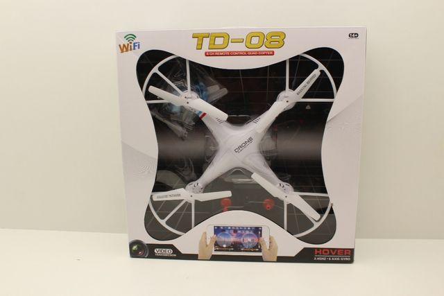 DRON TD08 Z KAMERĄ WiFi+okulary vr PODGLĄD NA ŻYWO super okazja poleca