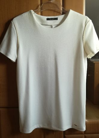 Biała bluzka, koszulka Mohito r. L