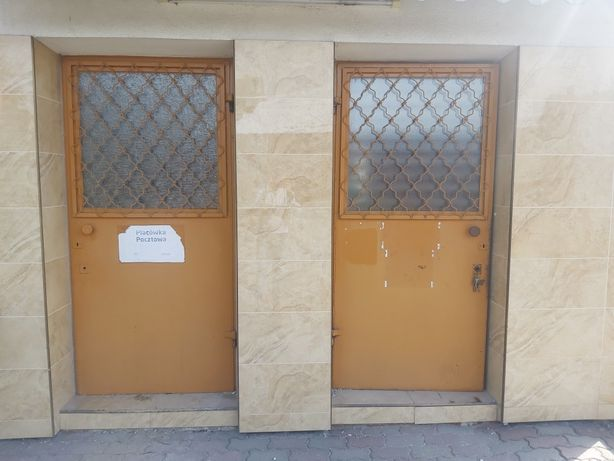 Drzwi metalowe, stalowe, 3 sztuki