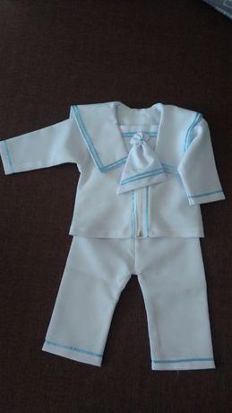 Ubranko do chrztu dla chłopczyka