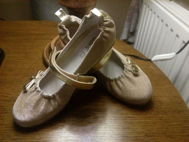 Złote baleriny