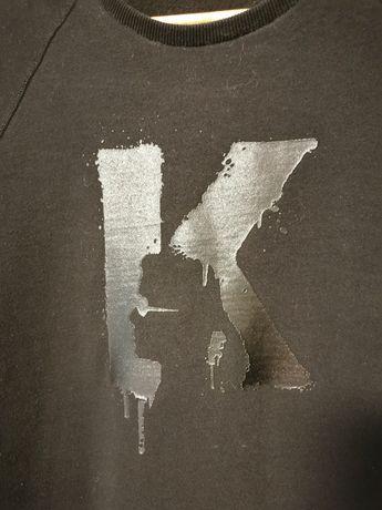 Oryginalna, męska, czarna bluza Karl Lagerfeld, rozmiar L