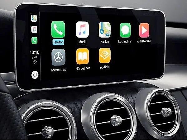 Mercedes aktywacja Carplay Android auto W205 W253 W213 C GLC W222 X G