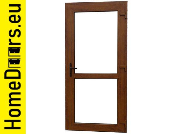 OD RĘKI Drzwi sklepowe drzwi PVC 100x210 złoty dąb dostawa cała Pols