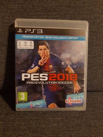 Pro Evolution Soccer 2018PS3 Playstation 3 Kraków