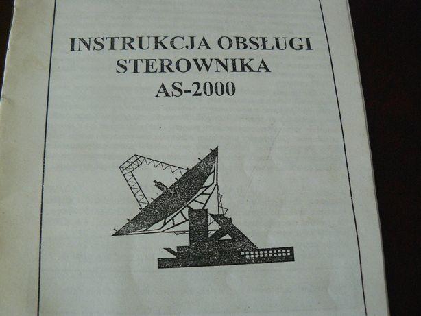 Instrukcje pozycjonerów obrotnic satelitarnych 2 szt.