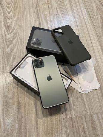 Идеальный iPhone 11 Pro 256Gb Green Neverlock Айфон про