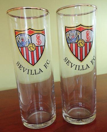 FC Sevilla Sewilla szklanka 2 szt.