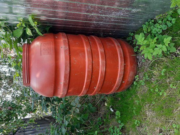 Beczka 200l idealna do ogrodu lub na budowe