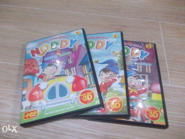 Alguns DVD Noddy