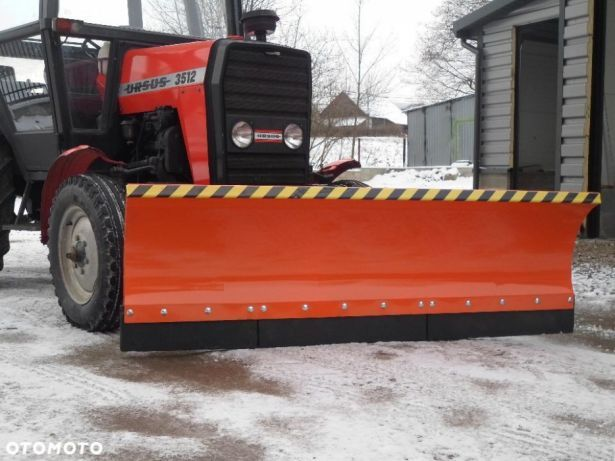 Producent Pług śnieżny do śniegu na ciągnik C-330 C-360 T25 MF-235 255