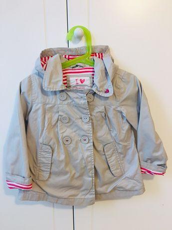 Rozm.92 Reserved kurteczka dziewczęca  płaszczyk .Stan idealny.