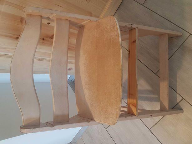 Krzesełko hauck wyższe do stołu
