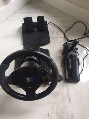Psp2 kierownica pedały i drążek zmiany biegów z hamulcem
