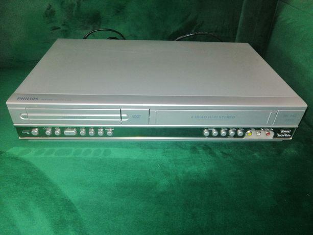 Odtwarzacz combo DVD/VHS Philips DVP 3100V sprawny 100% stan bdb