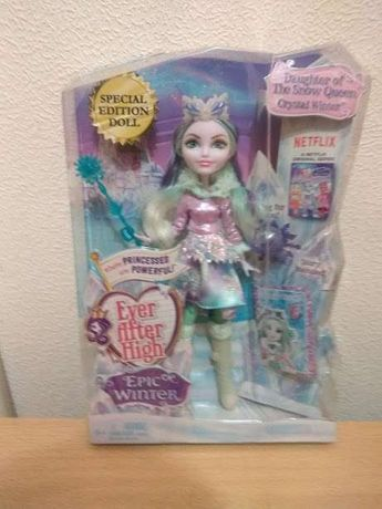 Кукла Ever After High Epic Winter Crystal Winter Doll
