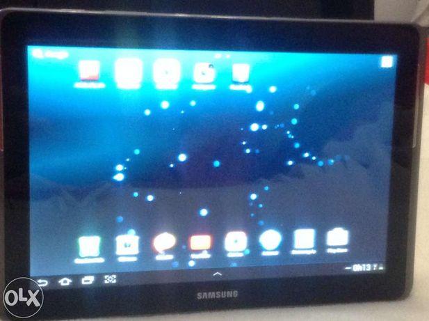 Tablet samsung galaxy tab2 10.1 com capa