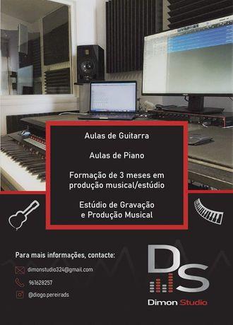 Aulas de Musica (Aulas de Piano e Guitarra)