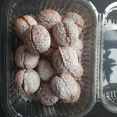 Домашние орешки со сгущенкой