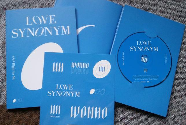 Wonho album LOVE SYNONYM wersja 1 i 2 (Monsta X)