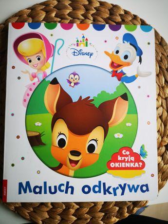 Maluch odkrywa Disney książka z okienkami