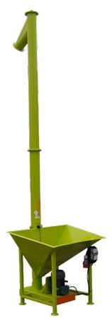 Przenośnik ślimakowy pionowy fi140 Cobra, żmijka pionowa, ADRAF