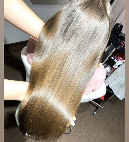 Волосы наращивания натуральные Волосся славянка Наращивание