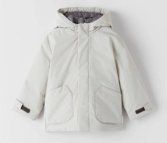 Куртка парка zara на мальчика, есть две, размер 92, весна осень