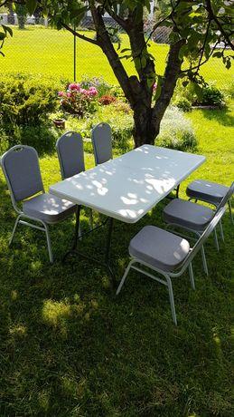 Stoły Cateringowe, ławki, krzesła Wynajem