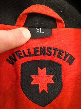 super ciepla kurtka czerwona WELLENSTEYN XL